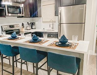Kitchen in vacation rental Boca Raton