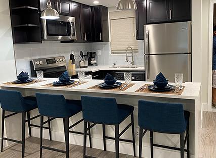 Kitchen in Boca Raton Vacation Rental