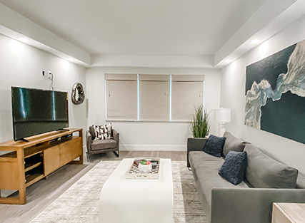 Living room in Boca Raton Vacation Rental