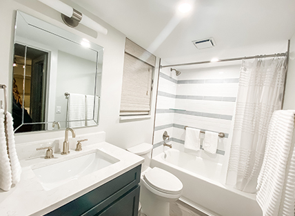 Bathroom in 365 ocean vacation rental